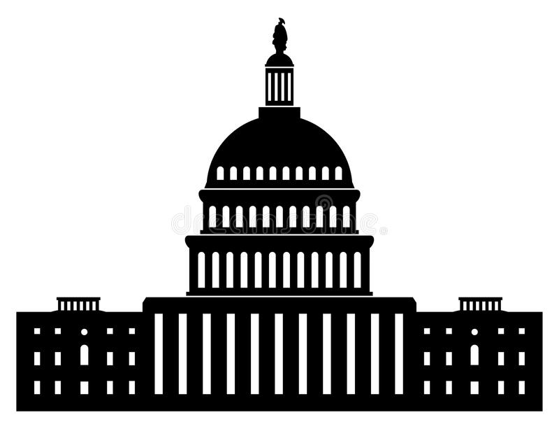 icon of capitol building washington dc american congress vector rh dreamstime com austin capitol building vector capitol building vector art