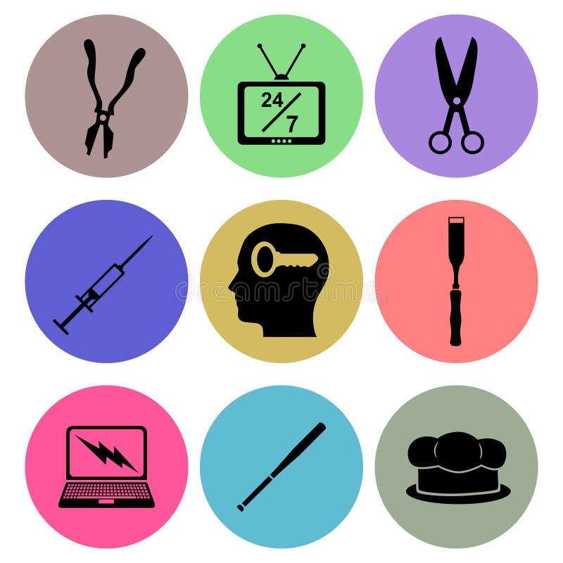 Download Icon designs stock illustration. Illustration of symbol - 39511101