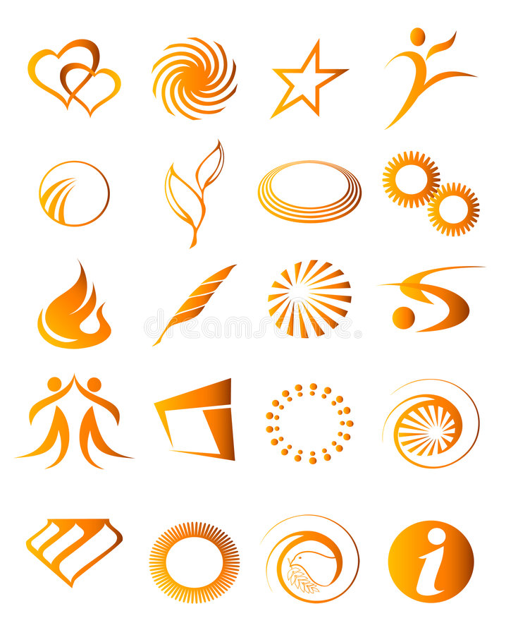 Download Icon elements 05 stock vector. Image of drawing, abstract - 7148014