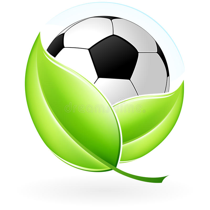 Icon With Football Stock Images