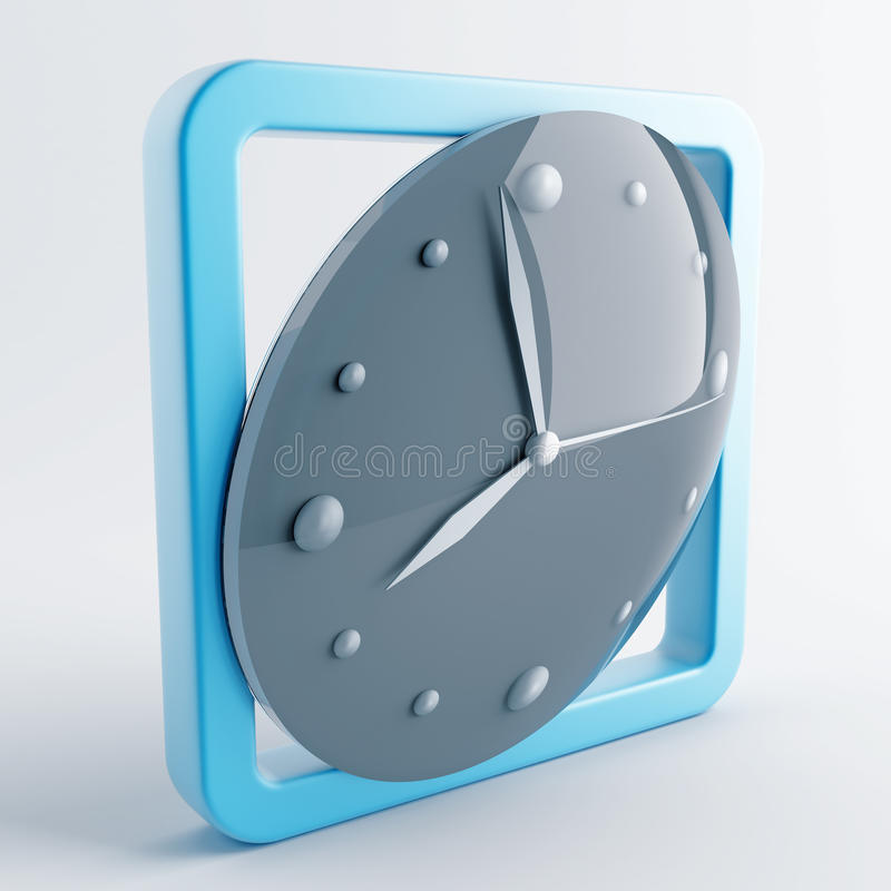 Icon In Gray-blue Color Royalty Free Stock Image
