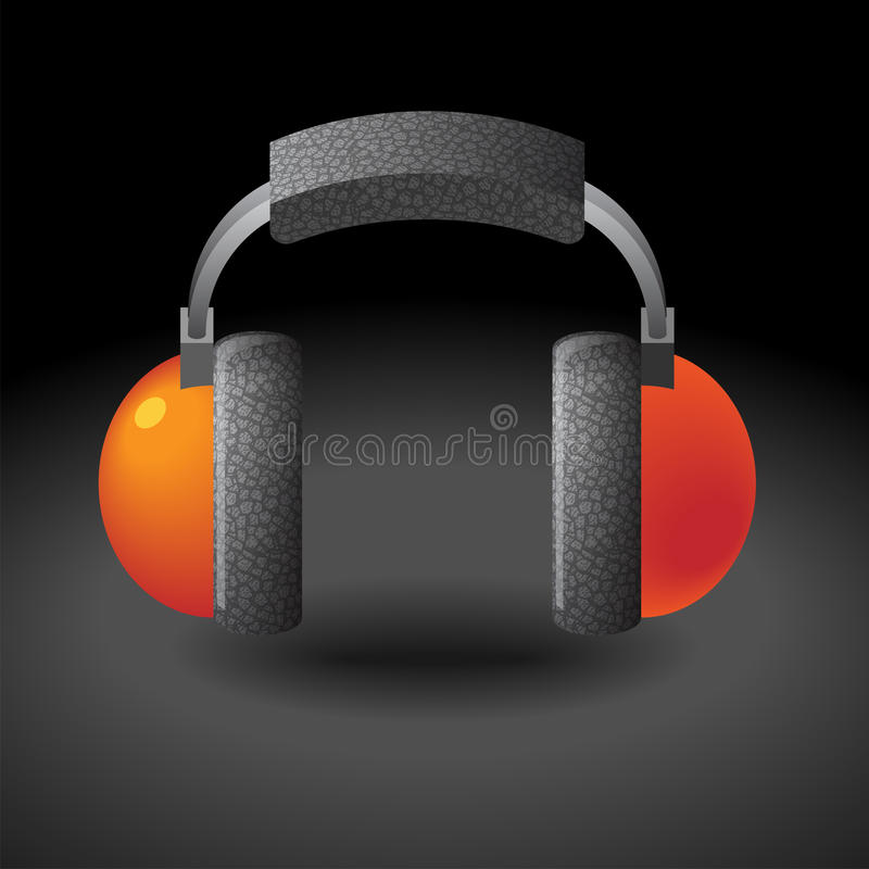 Icon For Headphones Royalty Free Stock Image