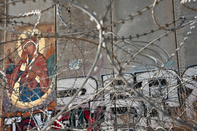 Download Icon On Israeli Separation Barrier Editorial Photography - Image: 25171017