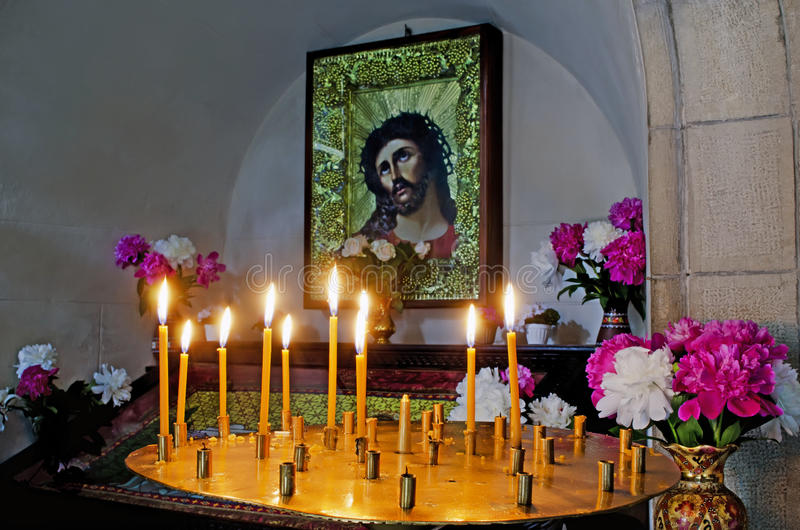 Download Icon of Jesus Christ stock photo. Image of golden, dead - 25226202