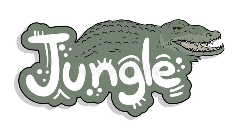 Icon jungle stock illustration
