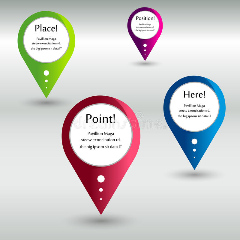 Download Location Pointer Stock Image - Image: 30072301