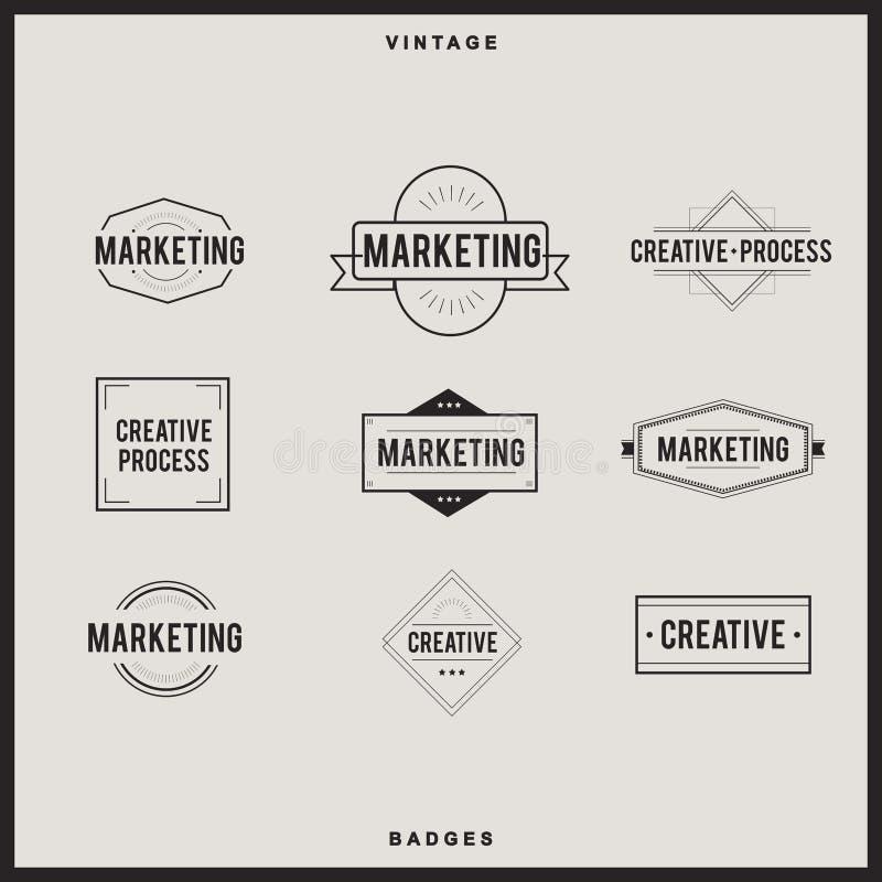 Icon logo set vector collection Concept. Icon logo set vector collection royalty free illustration