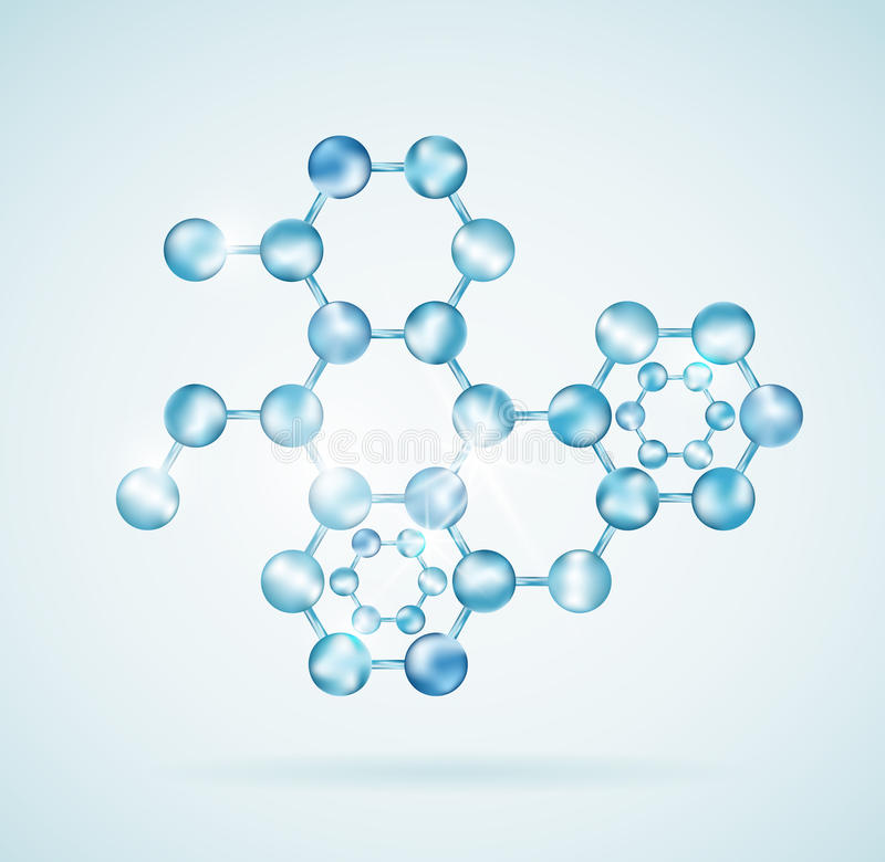 Icon of molecular structure