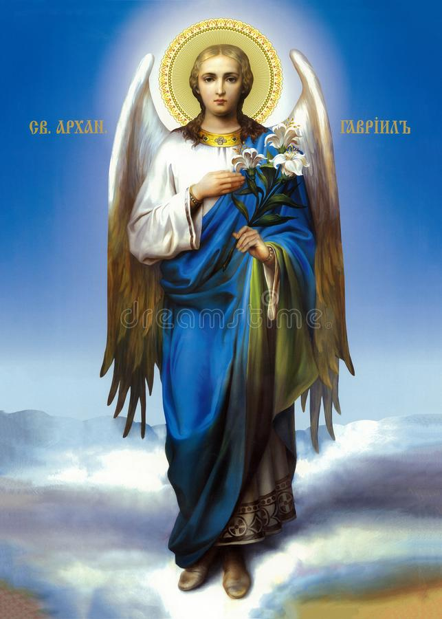 Free Icon Of The Archangel Gabriel Royalty Free Stock Photos - 164480948