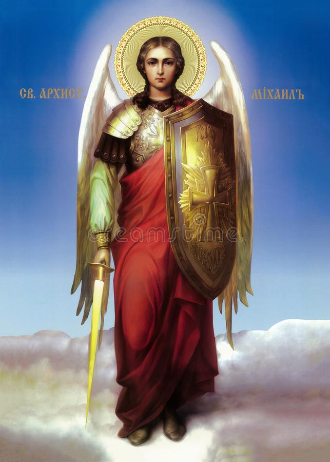 Free Icon Of The Archangel Michael Stock Photo - 164480920