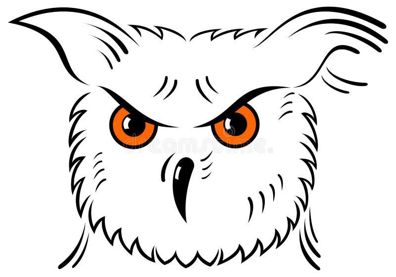 Icon owl vector