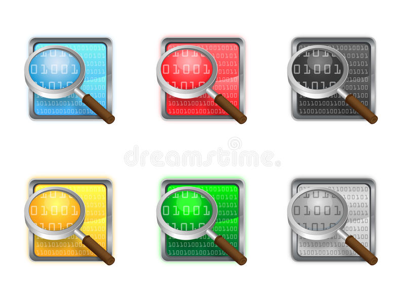 Download Icon search stock illustration. Image of sign, look, find - 28870143