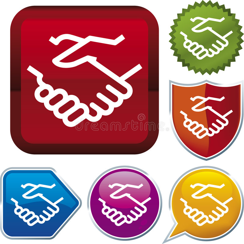 Free Icon Series: Handshake (vector) Royalty Free Stock Photo - 4062545