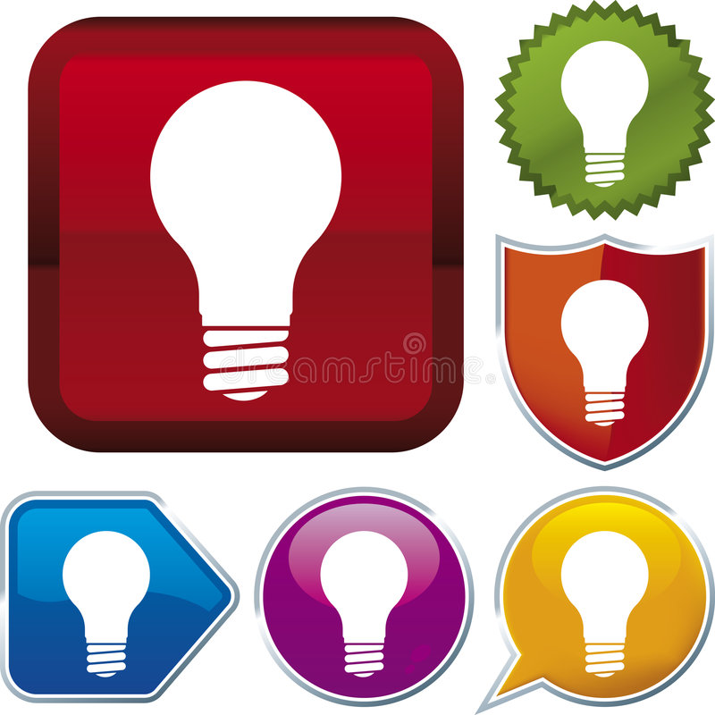 Free Icon Series: Lightbulb (vector Stock Photo - 4062620