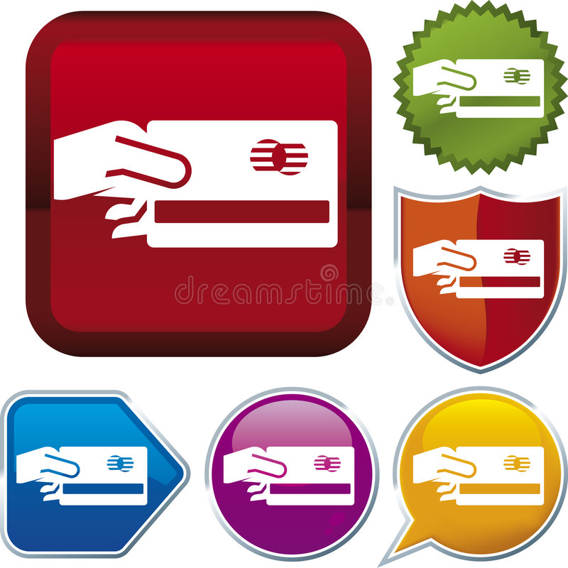Icon series: pay vector illustration