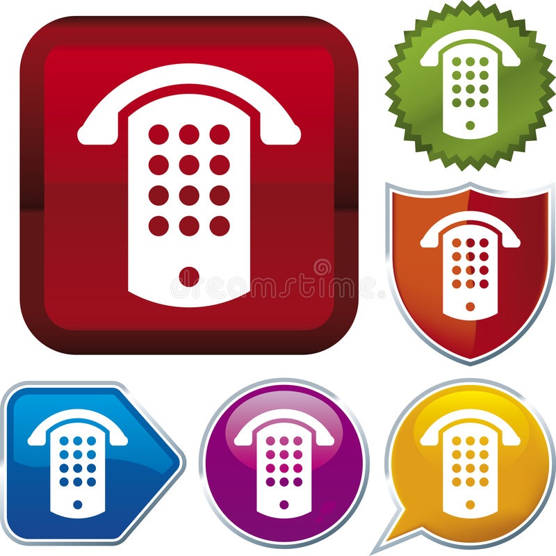 Free Icon Series: Public Phone (vec Stock Photography - 4062782