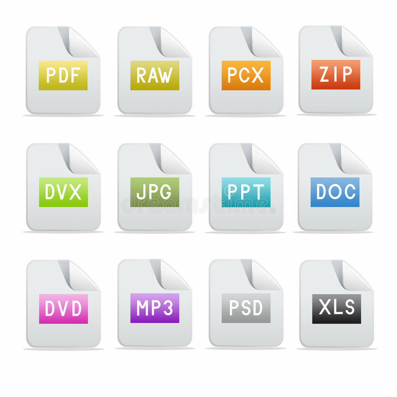 Download Icon set stock vector. Illustration of blue, push, buttons - 11557744
