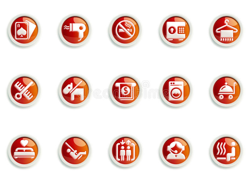 Icon set vector illustration