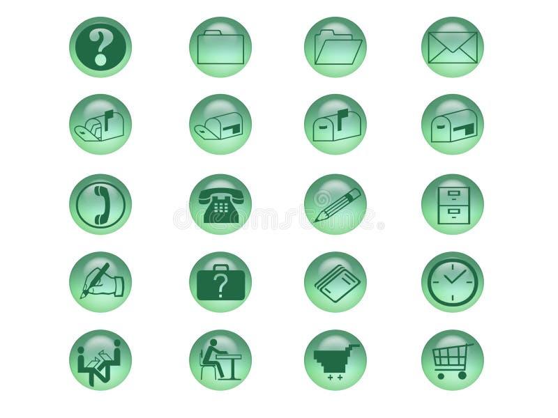 Icon Set stock illustration