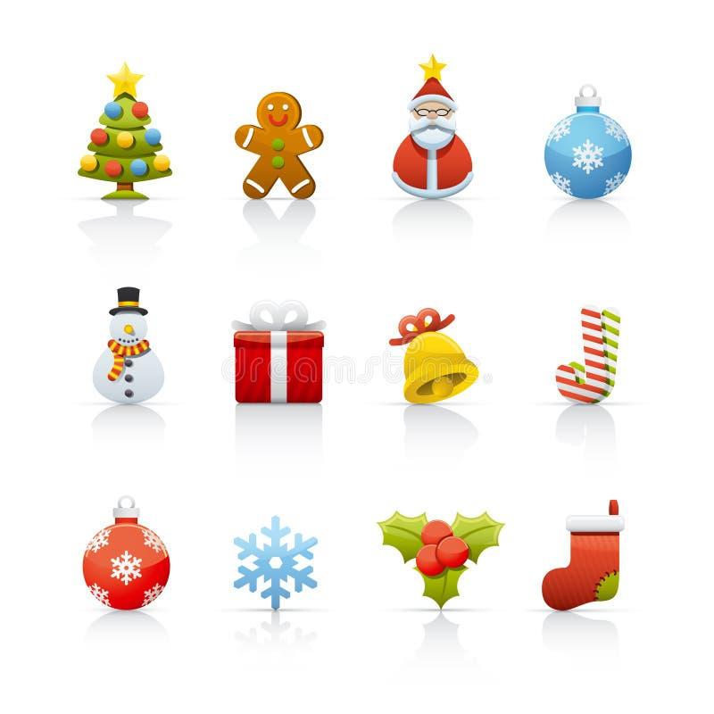 Icon Set - Christmas 2 vector illustration