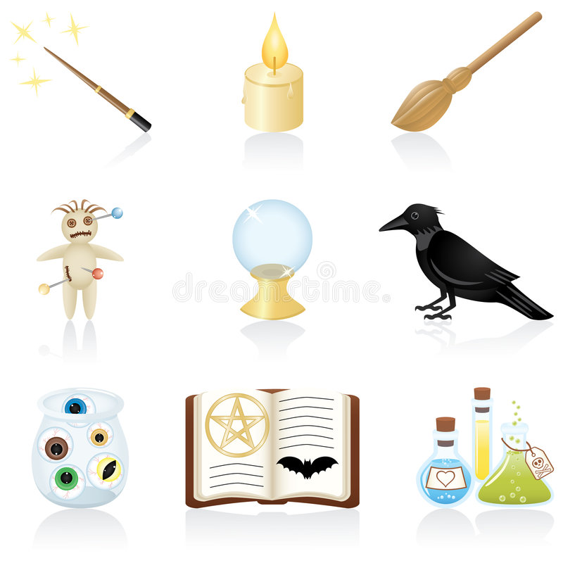Free Icon Set Magic Stock Image - 6472401