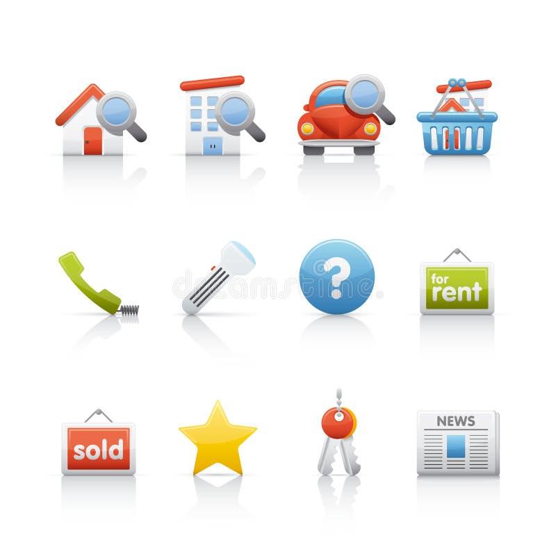 Icon Set - Real Estate Stock Photography