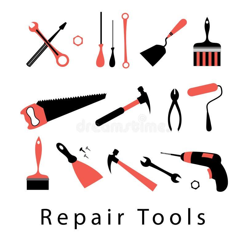 Free Icon Set Repair Tools Stock Photography - 49677332