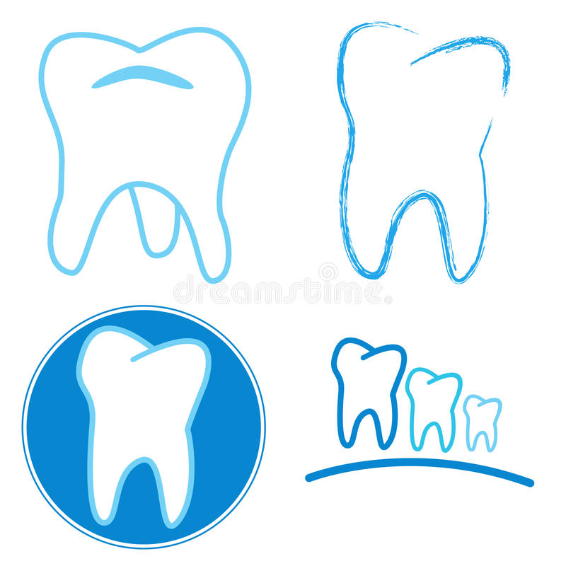 Download Icon set of teeth stock vector. Illustration of health - 30404169