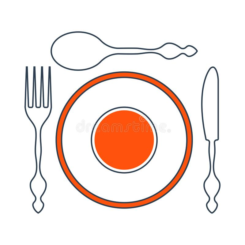 Download Plate Clipart Plate Silverware - Table Setting Clipart PNG Image  with No Background - PNGkey.com