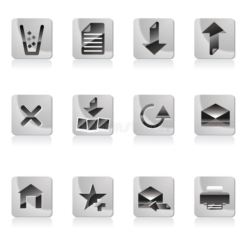 icon site web иллюстрация штока