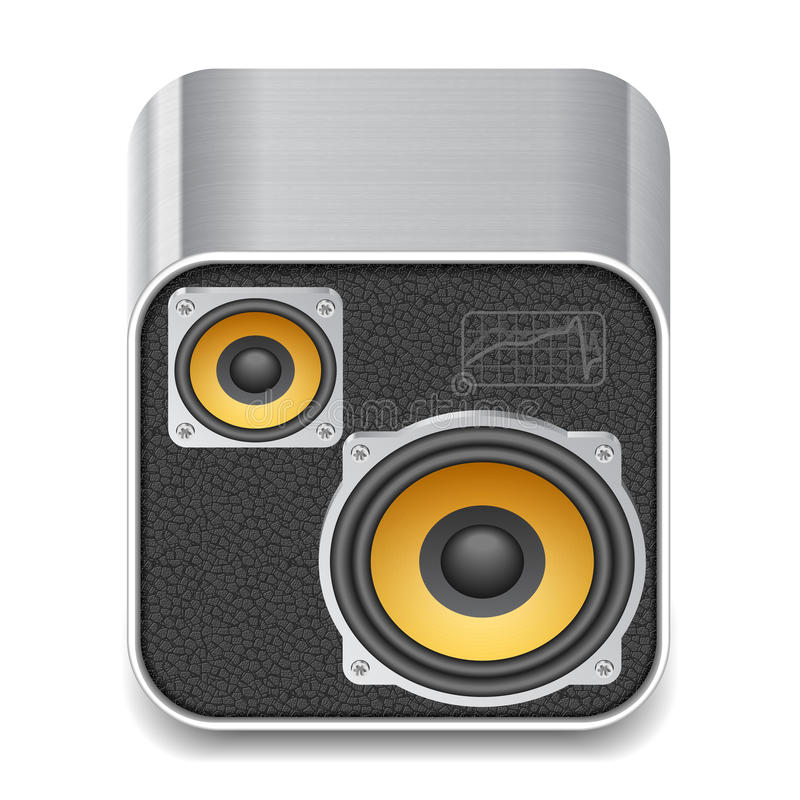 Download Icon For Speakers Royalty Free Stock Photos - Image: 25043948