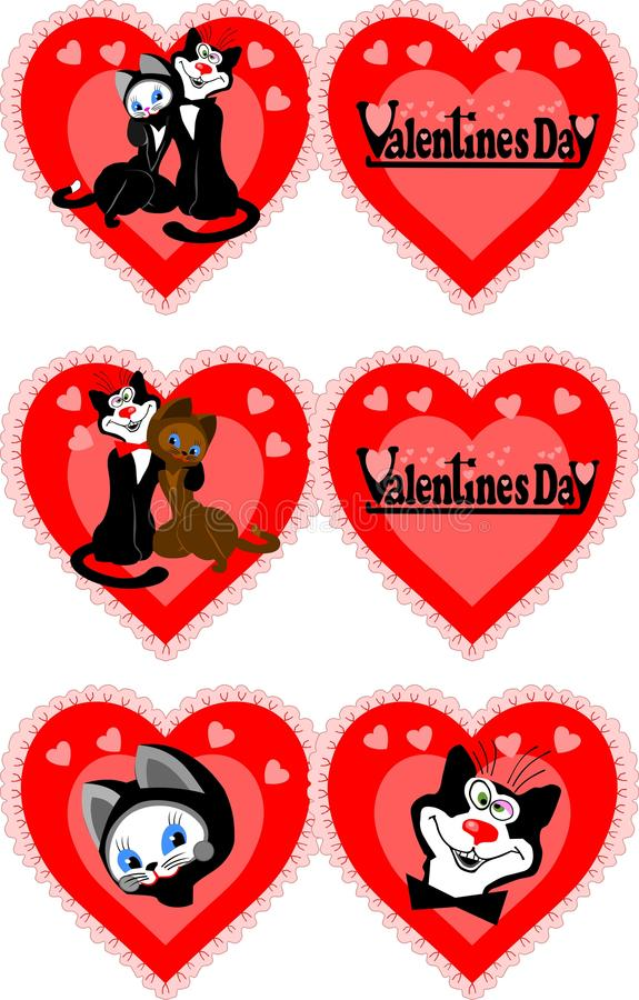 Download Icon To The Valentine's Day Stock Illustration - Image: 12646414