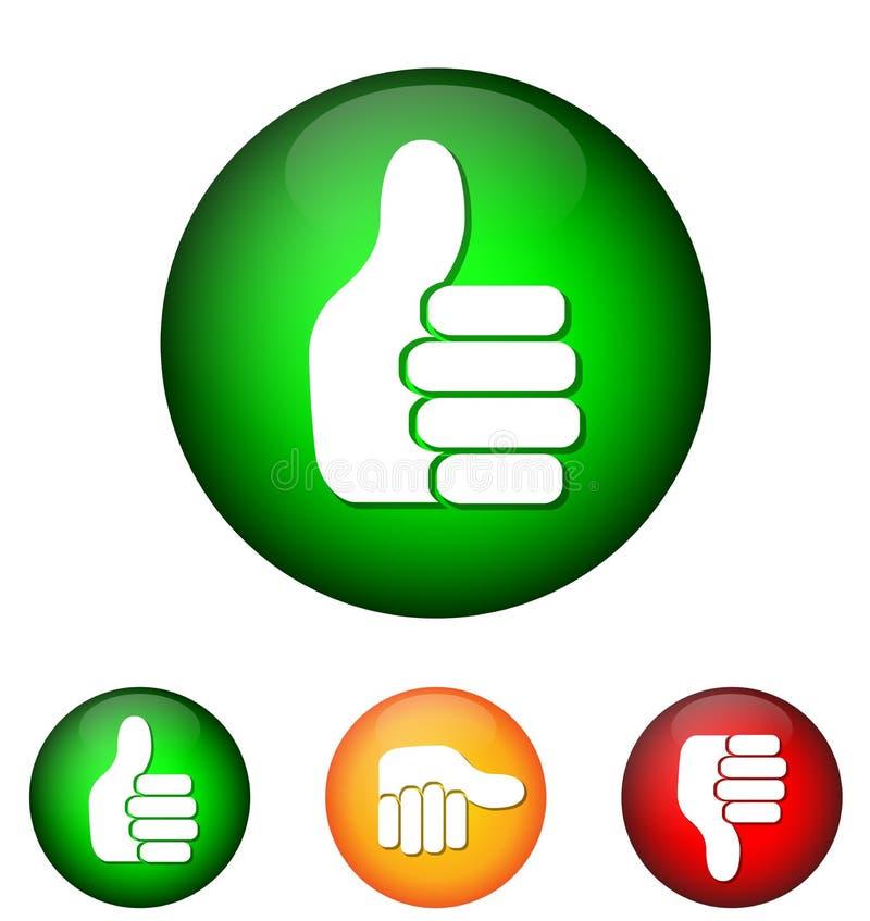 Icon validation stock illustration