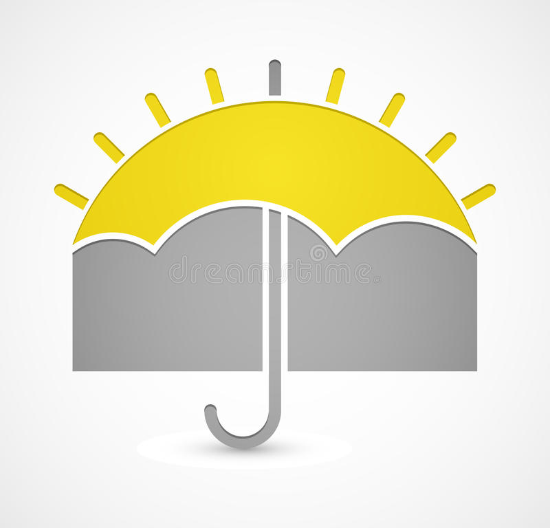 Icon of weather vector illustration