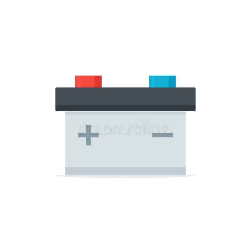 Icona accumulatore per di automobile illustrazione vettoriale