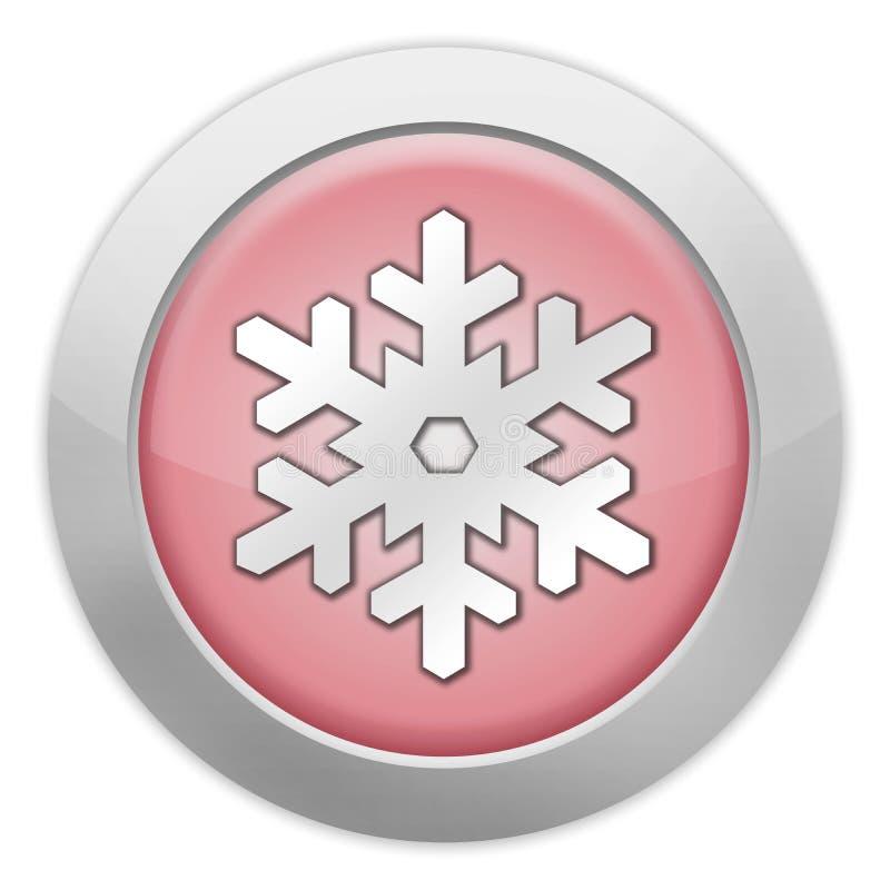 Icona, bottone, ricreazione di inverno del pittogramma illustrazione di stock