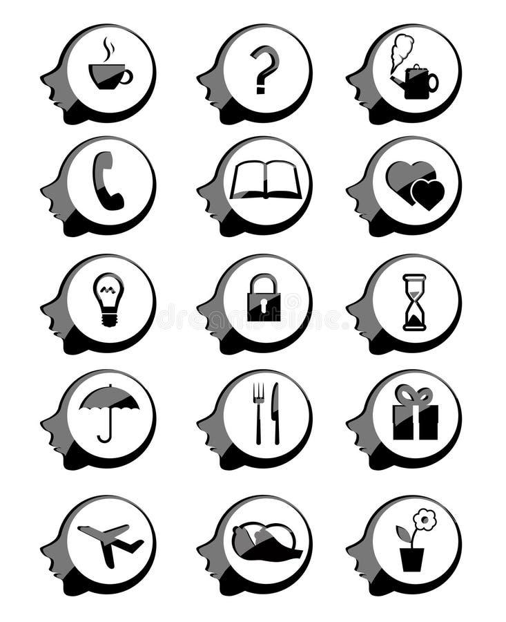 Icona capa illustrazione vettoriale