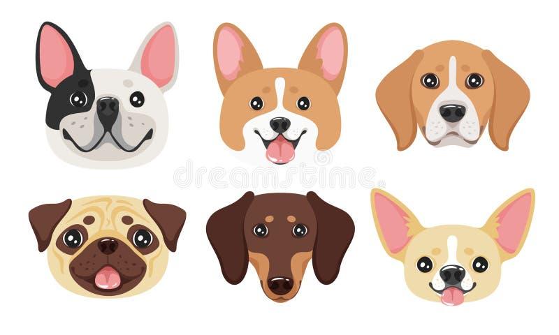 Icona capa dell'animale domestico del cane royalty illustrazione gratis