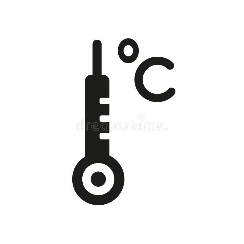 icona centigrado  illustrazione di stock