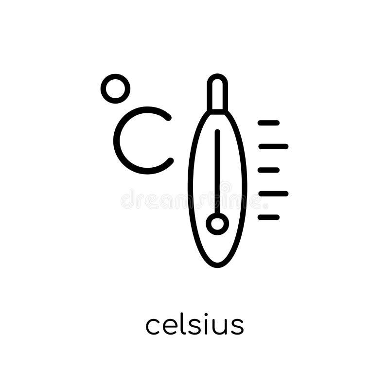 Icona centigrado dalla raccolta illustrazione di stock