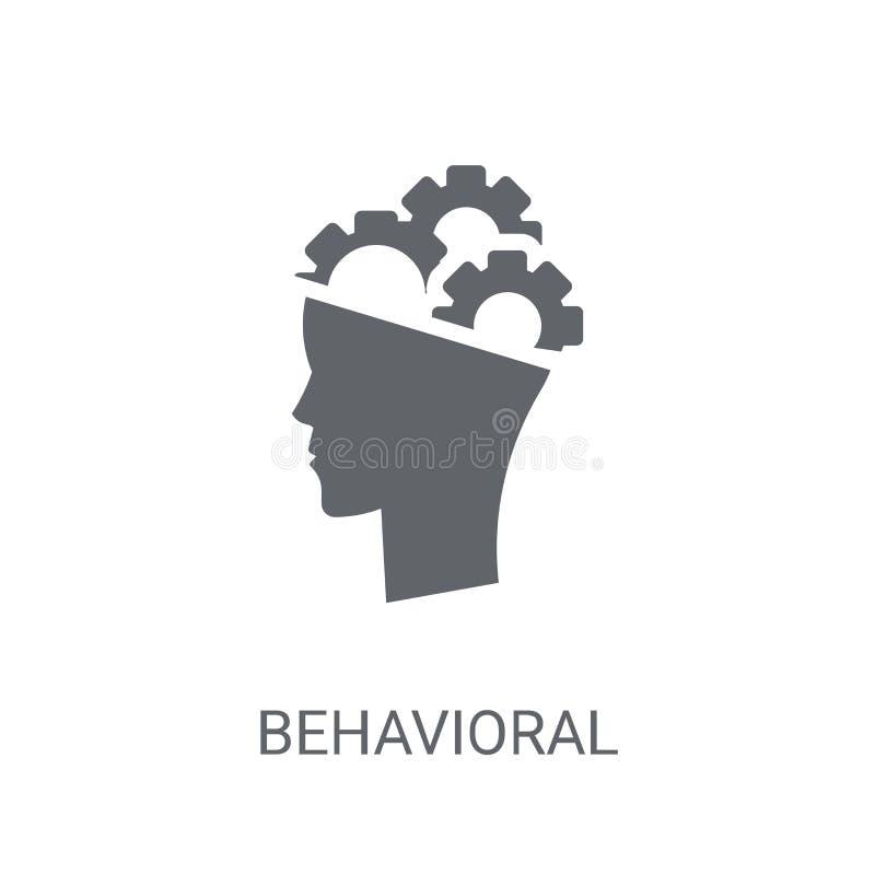 Icona comportamentistica di competenza Logo comportamentistico d'avanguardia co di competenza royalty illustrazione gratis