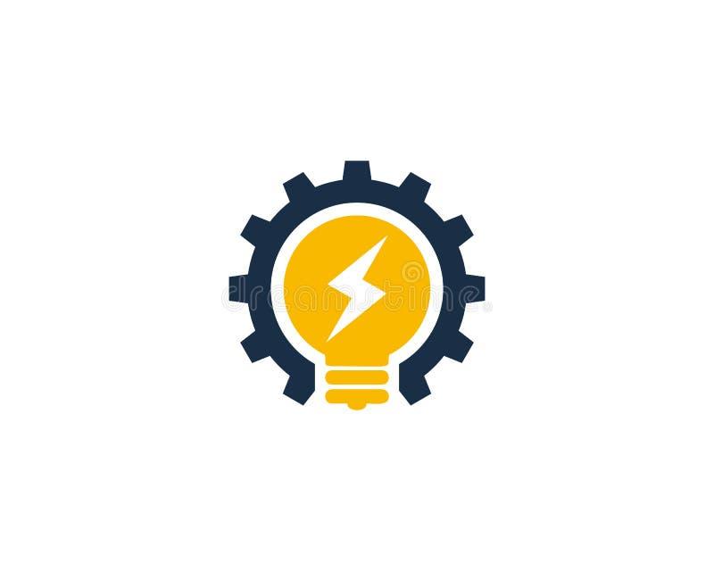 Icona creativa Logo Design Element di energia di potere di idea royalty illustrazione gratis