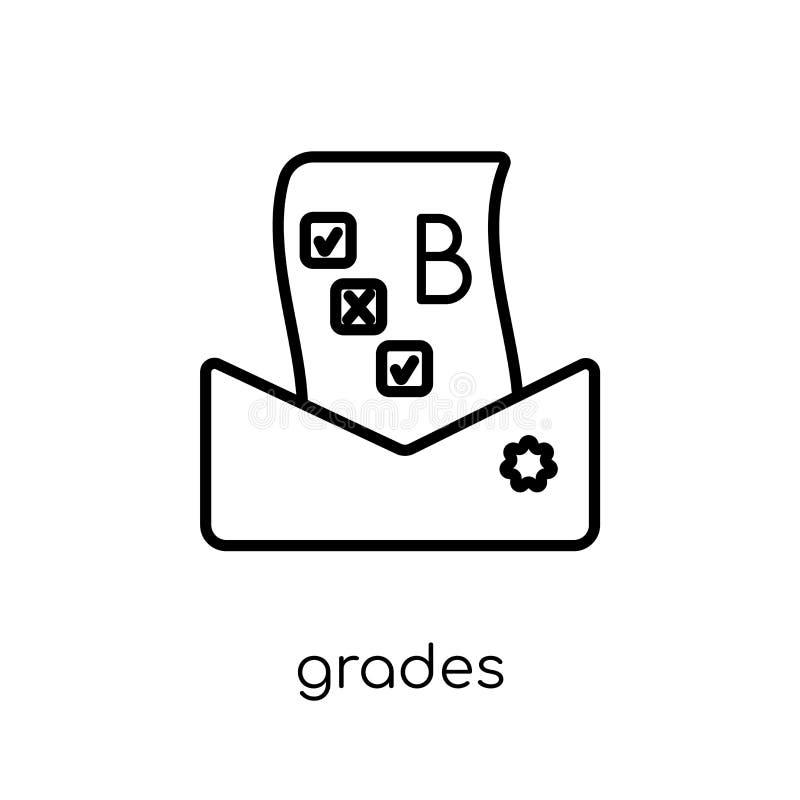 Icona dei gradi  illustrazione vettoriale