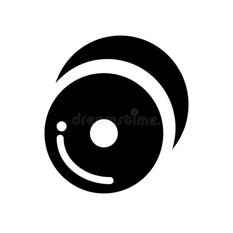 Icona dei piatti Concetto d'avanguardia di logo dei piatti su fondo bianco franco illustrazione di stock