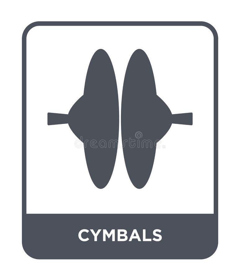 icona dei piatti nello stile d'avanguardia di progettazione icona dei piatti isolata su fondo bianco simbolo piano semplice e mod illustrazione di stock