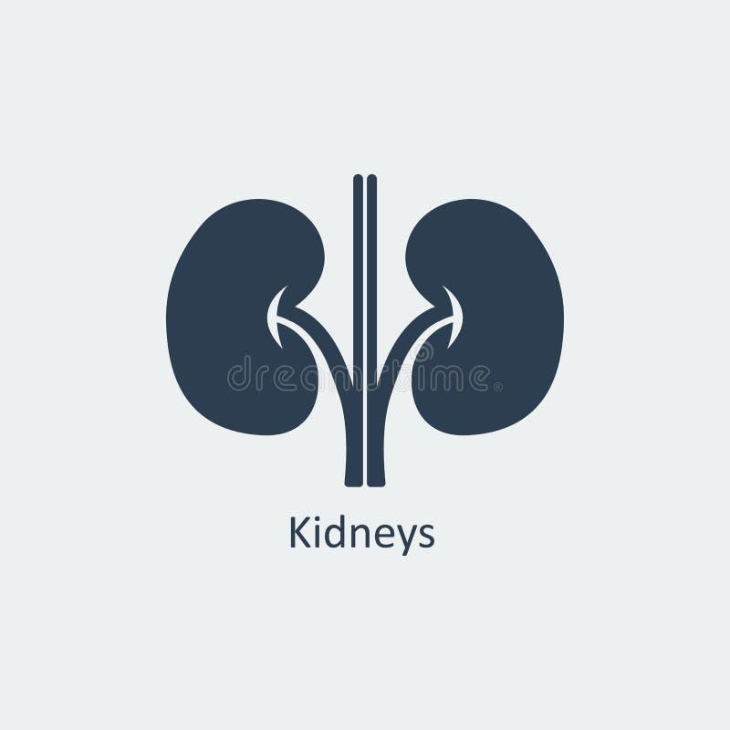 Icona dei reni Illustrazione di vettore illustrazione di stock