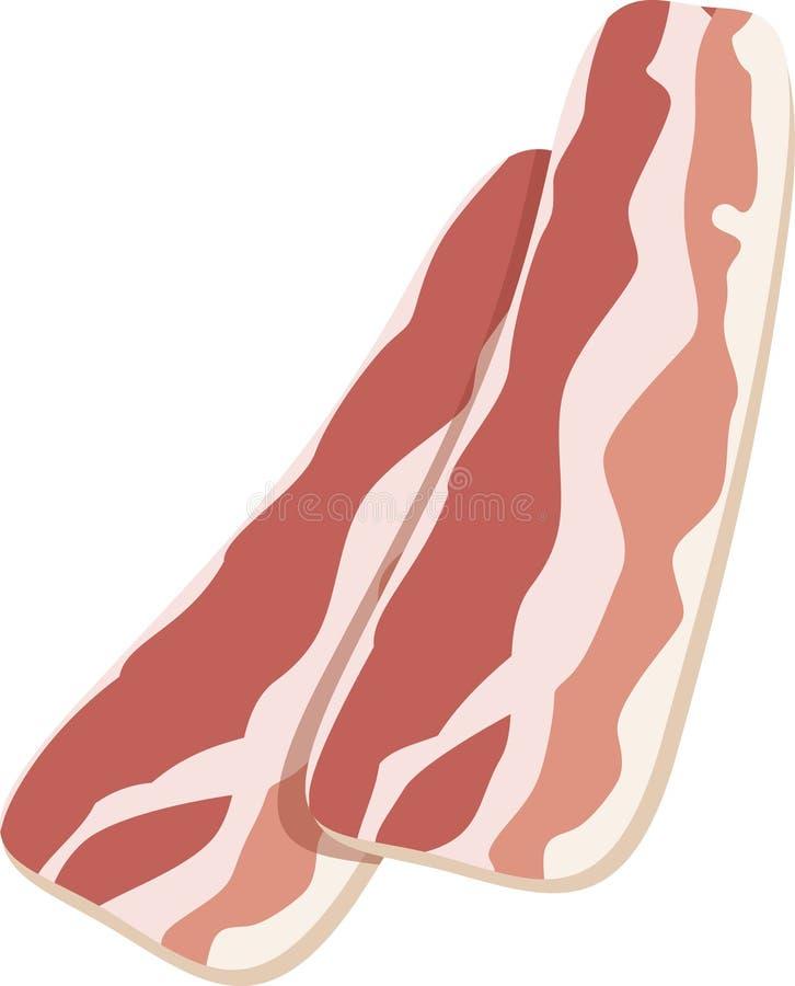 Icona del bacon illustrazione di stock