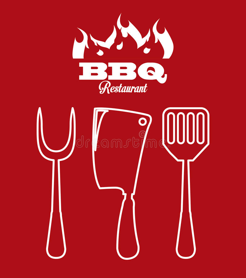 Icona del Bbq royalty illustrazione gratis