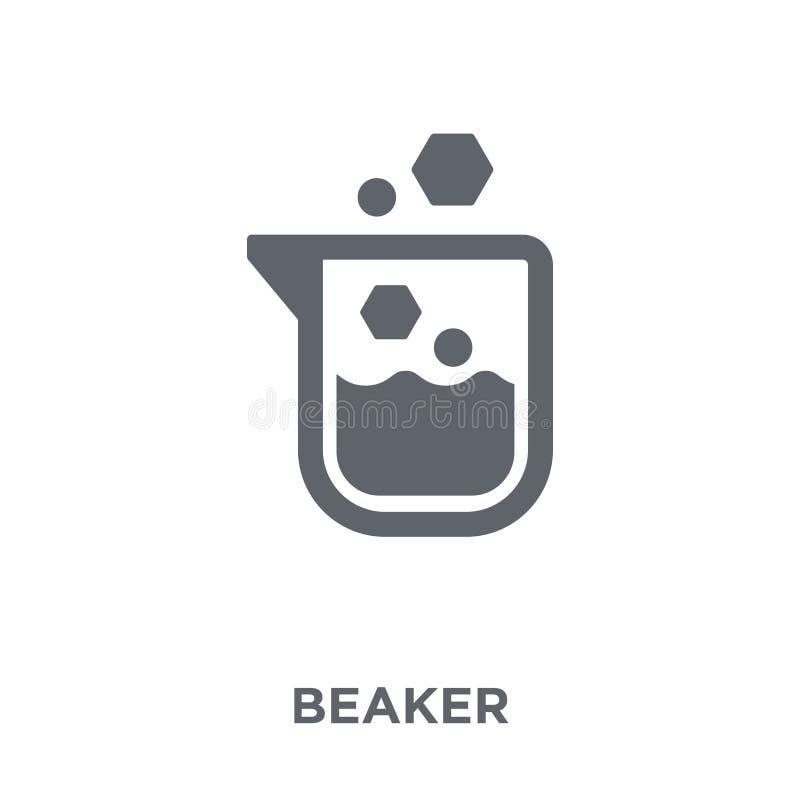 Icona del becher dalla raccolta illustrazione vettoriale