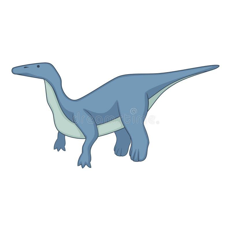 Icona del brontosauro, stile del fumetto royalty illustrazione gratis
